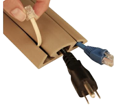 A standard cord protector